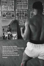 ALI-GYM 24x36 POSTER BOXING BOXER FIGHTING GLOVES LEGEND BEST ACTIVIST STAR COOL