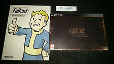FALLOUT NEW VEGAS COLLECTOR PS3 SONY NEUF SOUS BLISTER VF + ARTBOOK L'HISTOIRE