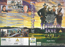 Return To Lonesome Dove Part Two Video Promo Sample Sleeve/Cover #11510
