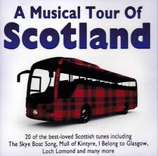 A MUSICAL TOUR OF SCOTLAND - 20 BEST LOVED SCOTTISH TUNES (NEW SEALED CD)