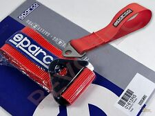 Sparco Racing Universal Tow Strap / Tow Hook Ribbon - Red