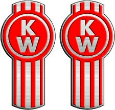 Kenworth Truck Decal Pair   Semi, Trailer, Wall, Window Vinyl Sticker