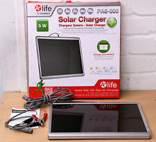 SOLAR CHARGER A + LIFE PA6-005  5.6W Solar battery Charger 99p No reserve