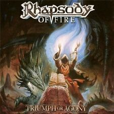 RHAPSODY OF FIRE - TRIUMPH OR AGONY - 2LP VINYL 2006 NEW SEALED