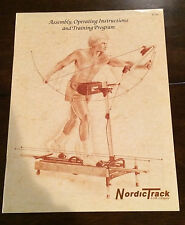 Nordic Track  Skier Assembly and Operating Instruction and Training Program