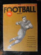 Vintage 1932 Football Digest 32 Pages