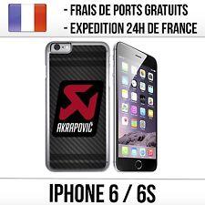 Coque iPhone 6 et 6S - Akrapovic Carbone