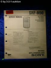 Sony Service Manual SRF M90 (#2245)