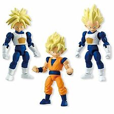 Dragonball Kai 66 action SS Goku Vegeta Trunks 3 figure set Bandai