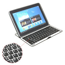 Bluetooth French Keyboard AZERTY for Samsung Galaxy Note 10.1 Tablet N8000 N8010