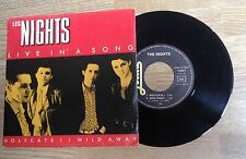 45 tours Les NIGHTS Live in a song - rock français 1985 EXC+