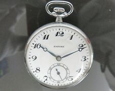 100% Authentic SEIKO EMPIRE Hand Winding Pocket Watch Vintage