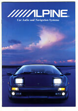 ALPINE - CAR AUDIO CATALOGO 1997  ESPAÑOL   ORIGINAL CATALOG
