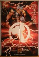 "THOR Promo poster, Thunder God, 24"" x 36"", 1998, Unused, more in our store"