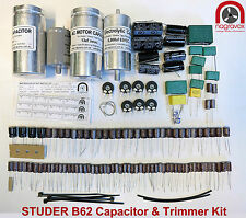 STUDER B62 capacitor and trimmer upgrade overhaul kit