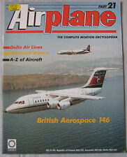 Airplane Issue 21 British Aerospace 146 cutaway drawing & poster,Westland Wyvern