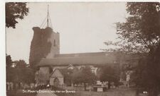 St. Marys Church Walton on Thames 1911 RP Postcard, B355