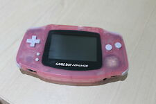 Clear Pink Game Boy Advance Re furbished Condition  Nintendo GBA Gameboy