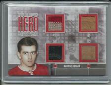 2013 ITG Heroes Maurice Richard Complete Package JSY STICK Skate Glove /9