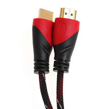 12FT High Speed HDMI Cable for 4K TV Bluray V1.4 with Ethernet 1080P BLK/RED