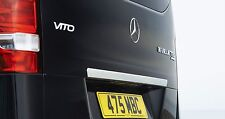Genuine Mercedes 2015 New Vito Chrome Tailgate Element~Trim (Sport)  WDB447