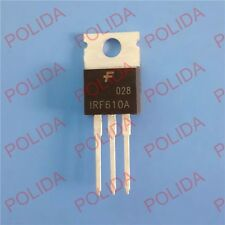 10PCS MOSFET Transistor FAIRCHILD/SEC TO-220 IRF610A