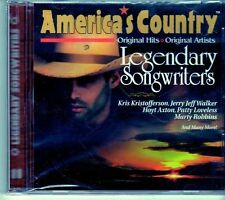 (EI529) America's Country, Legendary Song Writers - 1997 sealed CD