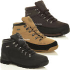 New Mens Black Brown Beige Work Safety Shoes Boots Lace Up Steel Toe Cap Leather