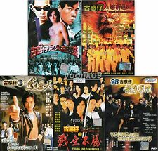 Young and Dangerous (1 2 3 4 5) H.K Movie DVD Collection Ekin Cheng _English Sub