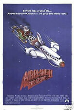 AIRPLANE II 2 THE SEQUEL ORIGINAL 27X41 FOLDED MOVIE POSTER 1982 ROBERT HAYES