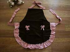 Again!! Chic Butterfly Bow Frill Adjustable Two Pocket Kid Apron
