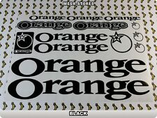 ORANGE Stickers Decals  Bicycles Bikes Cycles Frames Forks Mountain MTB BMX 56B