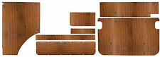 Westfalia Berlin ply Wood Interior Panel Set 7pcs VW Baywindow as original C9232