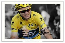 CHRIS FROOME 2013 TOUR DE FRANCE SIGNED AUTOGRAPH PHOTO PRINT