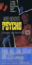 Psycho Alfred Hitchcock Vintage Movie Poster  18x24