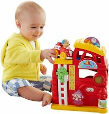 Fisher-Price Laugh & Learn Monkey's Smart Stages Firehouse BRAND NEW, NEW IN BOX