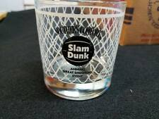 Southern Comfort Blue Slam Dunk Basketball March Madness Short Glass 10 Glasses