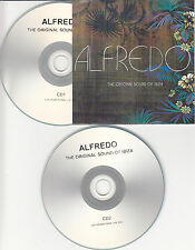 ALFREDO The Original Sound Of Ibiza UK promo test 2-CD Joe Smooth Fingers Inc