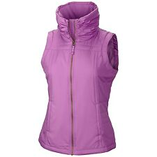 Columbia - L - NWT $75 -Pink Quilted - Micro- Fleece Lined  - Logo Vest Jacket