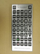 """Sentry Jumbo Universal Remote TV/VCR 11"""" x 5"""" RMC- 10 Batteries Included"""