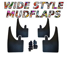 4 X NEW QUALITY WIDE MUDFLAPS TO FIT  Opel Vectra C UNIVERSAL FIT