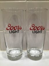 Pair Of Coors Light Pint Glasses!!!