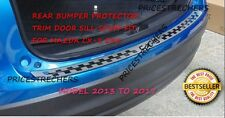 HIGH QUALITY MAZDA CX-5 REAR BUMPER PROTECTOR TRIM DOOR SILL SCUFF PLATE 2013-17