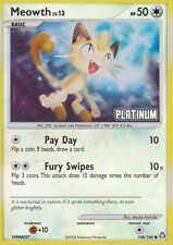 1x Meowth - 106/146 - Burger King Platinum (Legends Awakened Reprint) Promo Poke
