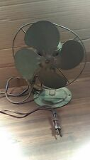 1950 Vintage Original Collectible Mini Table Fan , Working ! Christmas Sale !