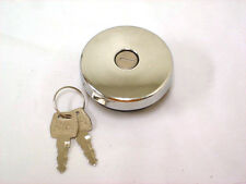 1947-1959 Chevy Truck Pickup Locking Gas Cap Fuel Cap with Keys Chrome 1948 1950