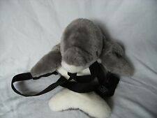 """LORO PARQUE, SPAIN 19"""" Grey dolphin backpack"""