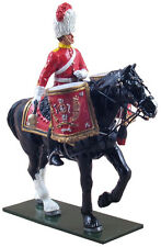W Britain Soldiers 48012 Royal Scots Dragoon Guards Mounted Kettle Drummer