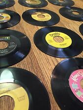 BEST DEAL =  Lot of 100 Vinyl Records 45 RPM for Art, Crafts and Decoration