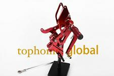 Red CNC Foot pegs Rearsets Rear set For Yamaha YZF R6 2003-2005 2004 New Arrival
